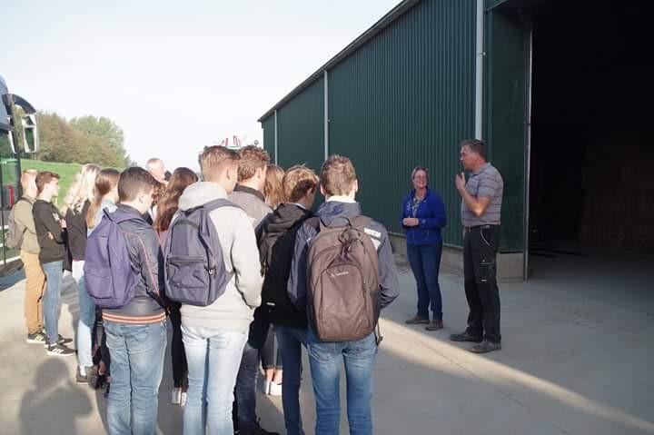 Bezoek aan Akkerbouwbedrijf Van Oorschot